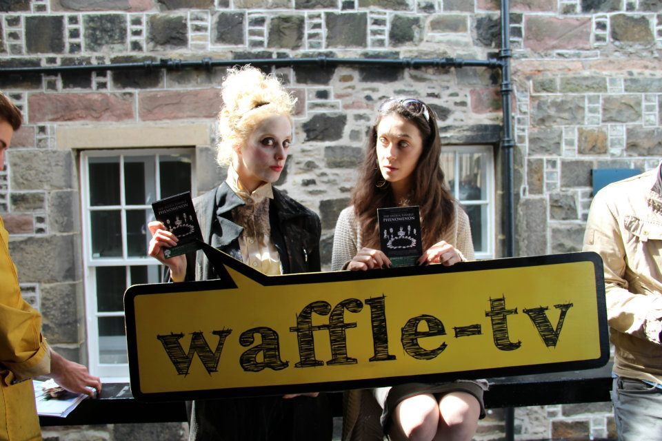 Waffle TV at the Edinburgh Fringe