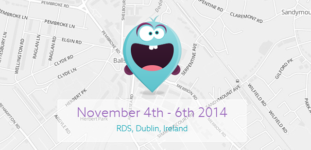 Map and date for The Summit in Dublin