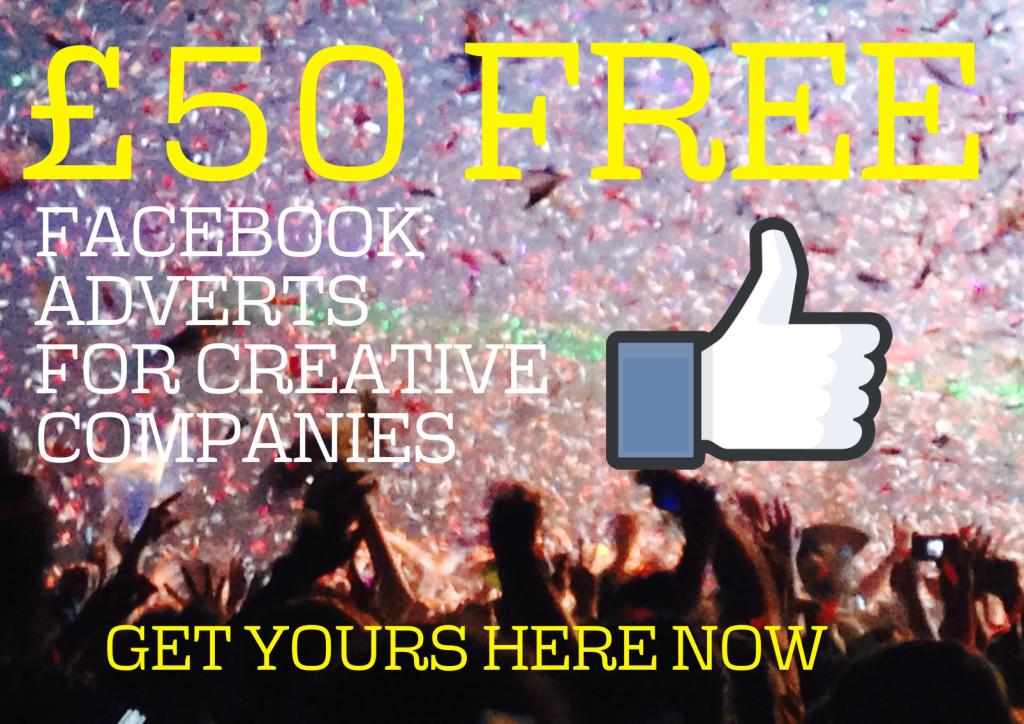 Image promoting free facebook ads