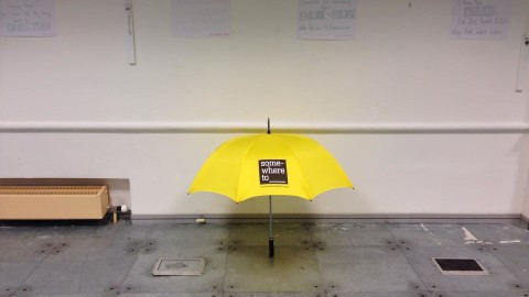 somewhereto_ umbrella in Argyle House