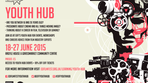 EIFF Youth Hub flyer