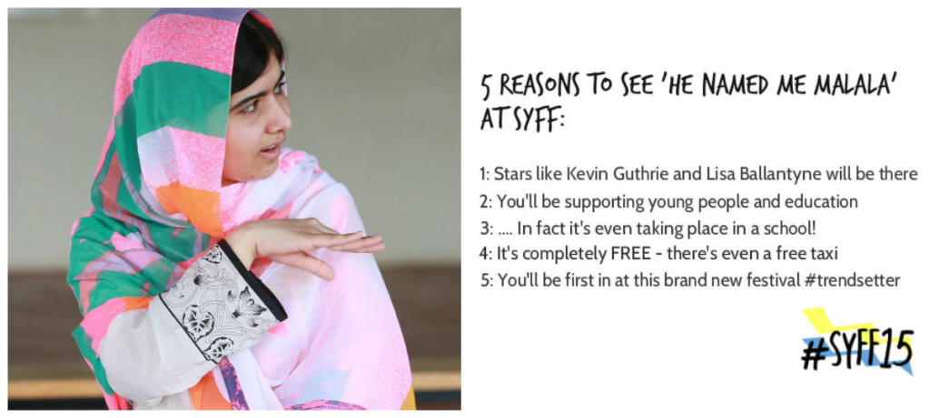 5 reasons to see malala at syff
