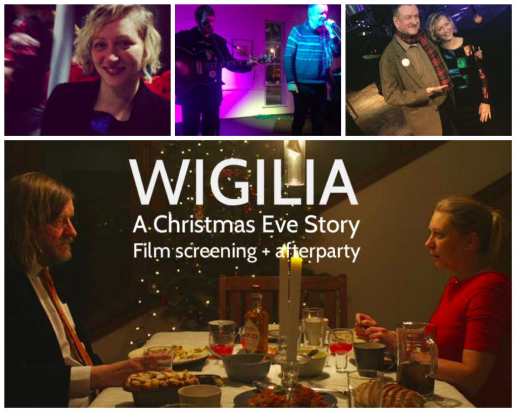 Images from and promoting the Wigilia film release